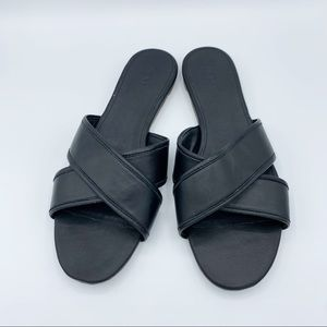J Crew Slip On Sandals New With Tag